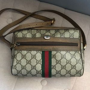 Gucci Vintage Used Bag Authentic